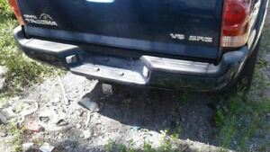 Rear Bumper Chrome With Tow Package Fits 05 15 Tacoma 1626107