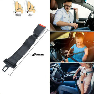 14 Car Auto Seat Seatbelt Safety Belt Extender Extension Buckle Universal 36cm