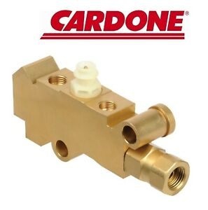 13 Pv001 A1 Cardone Brake Proportioning Valve New For Chevy S10 Pickup S15 Gmc