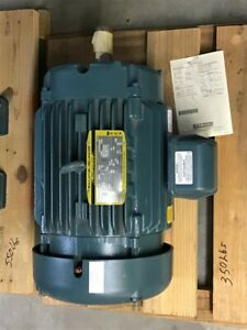 Baldor 15 Hp Ac Motor 460 Volts 1800 Rpm 4p 254t Frame 3 Phase 60 Hz
