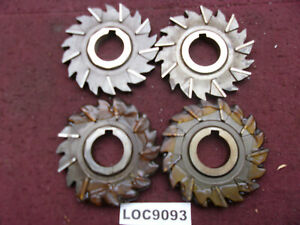 Niagara Arbor Slitting Saw Blades Lot Of 4 Size 4x1 2 Loc9093