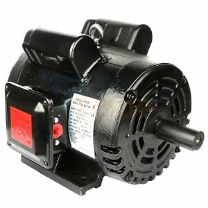 Air Compressor Electric Motor Single Phase 5 Hp 2 Pole 3450 Rpm 56hz Frame 60 Hz