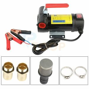 Oil Pump 200w Electric Self Prime Manual Diesel Engine Suction Car Motorcycle