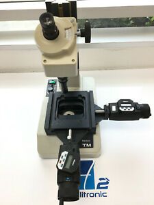 Mitutoyo Tm 176 811a Microscope With Micrometer Stage