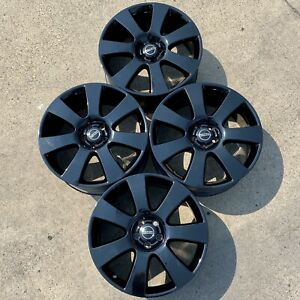 Range Rover Oem Factory 22 Wheels Rims Supercharged Black Sport Autobiography