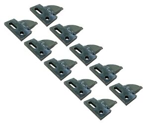 10 Center Cut Bolt On Carbide Teeth T165404c For Many Small Chain Trenchers