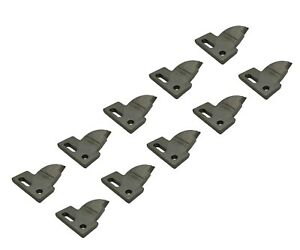 10 R h 4 Cut Bolt On Carbide Teeth T165404r For Many Small Chain Trenchers