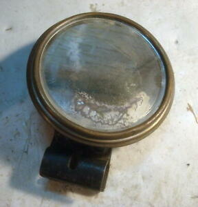 Vintage Old Car Or Truck Rear View Side Mirror