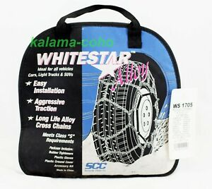 Whitestar Alloy Tire Snow Chains Ws 1705