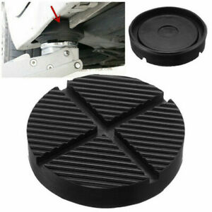 Universal Car Cross Slotted Frame Rail Floor Jack Rubber Pad Adapter For Wel