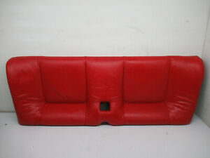 Audi Mk1 Tt 98 05 Alms Red Leather Lower Rear Seat Assembly Oem 103487290