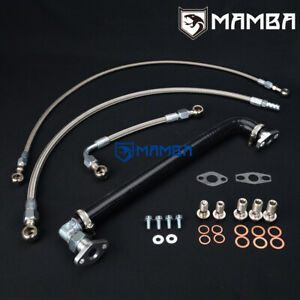 Mamba Turbo Oil Water Line 1 8t Transverse Vw Mk4 Golf Gti Bora Beetle K03 Tw