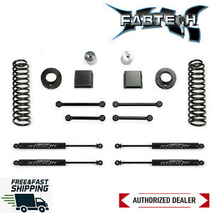 Fabtech 3 Sport Lift Kit System W Stealth Shocks Fits 2020 Jeep Gladiator