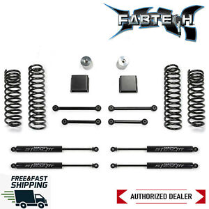 Fabtech 3 Sport Ii Lift Kit System W Stealth Shocks For 2020 Jeep Gladiator