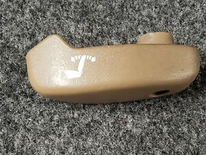 88 94 Chevy Gmc Truck Suv Bucket Seat Driver Side Recline Lever Tan Oem