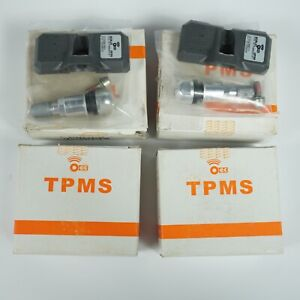 New Set Of 4 Orange Electronic Sc9l2t Tpms Sensor For 9 13 Escape 10 13 Explorer