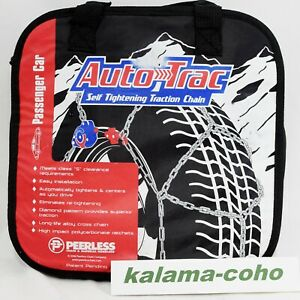 Auto Trac Track 0154505 Tire Snow Chains Self Tightening