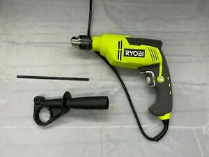 Ryobi D620h 6 2 Amp Corded 1 2 In Variable Speed Hammer Drill Used