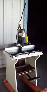 Electric Single Hole Industrial Paper Drill Model Concorde 92 O m