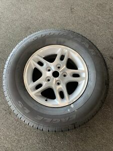 2000 2001 Jeep Grand Cherokee 16 Aluminum Wheel Rim P245 70r 16 Goodyear