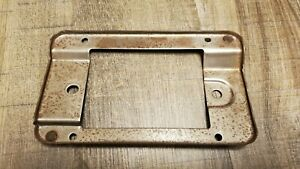 1980 86 Ford Truck Radio Mounting Plate Bracket
