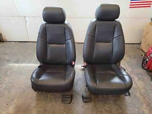 12 13 14 Cadillac Escalade Yukon Denali Front Leather Power Seats Heated Cooled