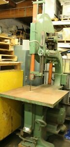 Tannenwitz Gh 36 Band Saw Bandsaw 20 underguide Bearings Press On Wheels Wood