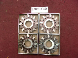 O k Tool Arbor Slitting Saw Blades 3x3 8 Lot Of 4 Loc9130