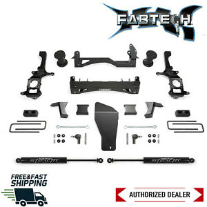 Fabtech 6 Basic Lift Kit W Performance Shocks Fits 2016 2018 Nissan Titan Xd