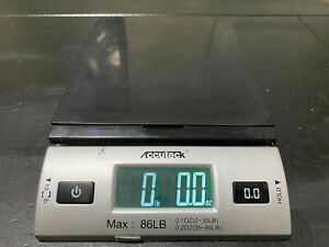 Accuteck Dreamsilver 86lbs Digital Postal Scale Shipping Scale Usb ac Adapter