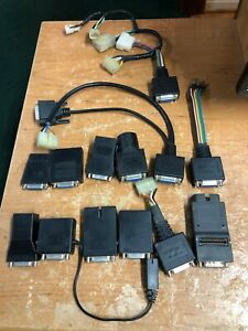 Snap On Scan Tool Adapters Domestic Asian Mt2500 Solus Modis Scanner Obd Obdii