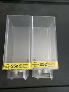 U Turn Candy Vending Machine Canisters Two 2 Tall