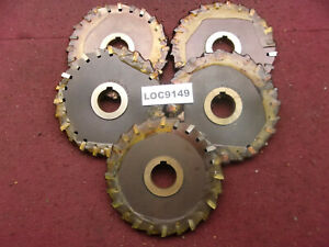O k Tool Arbor Slitting Saw Blades 6x1 2 Lot Of 5 Loc9149