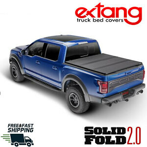 Extang Solid Fold 2 0 Hard Tonneau Cover For 2015 2020 Ford F150 5 5 Short Bed