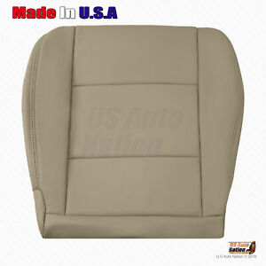 For 1998 To 2007 Toyota Land Cruiser Driver Bottom Leather Seat Cover Color Tan