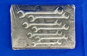 Snap on Svsm807a 7pc Metric Flank Angle Head Open End Wrench Set 32154 10