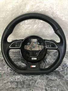 08 16 Audi S5 Rs5 A5 Oem Flat Bottom Steering Wheel 8k0419091ck