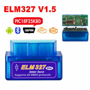 Elm327 Obd2 Bluetooth Code Reader Auto Interface Adapter Diagnostic Scanner Tool