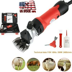 Sheep Goat Shears Clippers Electric Animal Shave Grooming Farm Supplies Usa