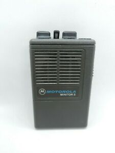Motorola Minitor Ii 2 Pagers Fire Ems Police Pagers Radio