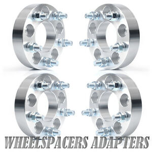 4 1 25 Wheel Spacers Adapters 5x4 5 To 5x4 75 1 2 x20 Stud 5x114 3 To 5x120 7