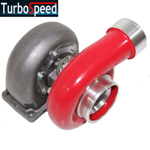 Red Gt45 Turbo 600 Hp T4 T66 3 5 V Band 1 05 A R 92 Trim High Performance