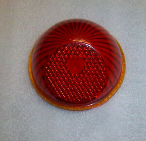 1937 1942 Willys Glass Tail Light Lens 3 1 4 Round 1936 1953 Indian Motorcycle
