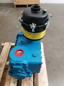 Kinney Kc15d Vacuum Pump Bare Shaft With Pulley Kinlube 220 Prepared
