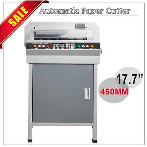 Updated 17 7 450mm Electric Paper Cutter Digital Cutting Machine Heavy Duty Ltl