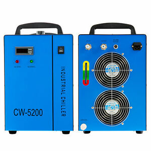 New Industrial Water Chiller Cw 5200 For Cnc Laser Engraver Engraving Machines