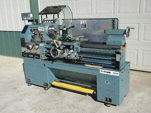 Fortune Victor 16 X 40 Gap Bed Engine Lathe W Newall 2 Axis Readout