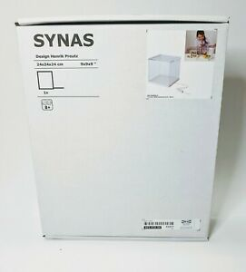 Ikea Synas 9 Led Lighted Clear Acrylic Display Case W Lid Dust Proof Brand New