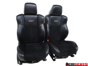 Srt8 Dodge Charger 300 Oem Heated cooled Leather Seats 2011 2015 2016 2017 2018
