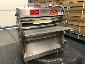 Acme Bench Commercial Pizza Dough Sheeter Roller Stainless Steel